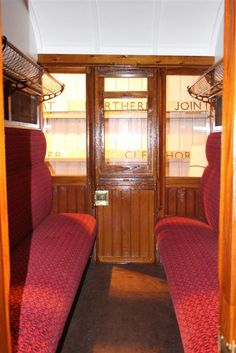 Second-class train compartment.I can remember going on Holiday to the Isle of Wight and travelling in a carriage just like this.