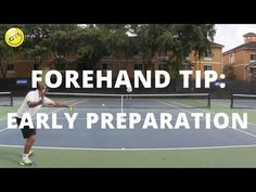 Tennis Forehand Tip: Early Preparation vs. Late Preparation - YouTube
