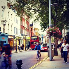 King's Road in Chelsea, Greater London