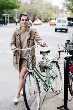 On the Street….Tompkins Square Park, New York via The Sartorialist