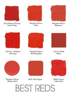 Best Red Paints