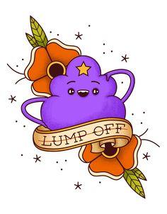 LSP Tattoo design | LUMP OFF