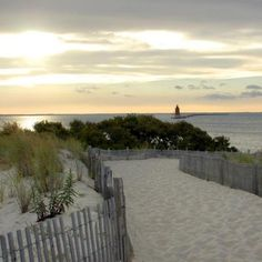 Start the day with a colorful and calming sunrise at Cape Henlopen State Park.