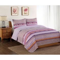 Dalhia Mini Quilt Set - Overstock™ Shopping - Great Deals on Pem America Quilts
