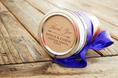Jelly or Jam Jar Stickers  Wedding Favors  25 Stickers by mavora