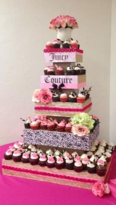 My daughter's Juicy couture birthday