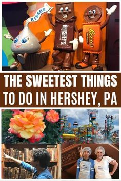 Headed to Hershey, PA, and looking for all the fun? From chocolate creations to caverns, here are the 12 sweetest things to do in Hershey, PA! Hershey Pennsylvania, Pennsylvania Dutch Country, Dream Vacations, Vacation Spots, Summer Vacations, Vacation Ideas, Travel With Kids, Family Travel, Family Trips