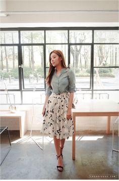 Real Muse Skirt | Korean Fashion KOODING.com