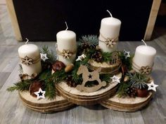 Diy Christmas Decorations Easy, Christmas Crafts For Kids, Xmas Crafts, Christmas Projects, Christmas Arrangements, Christmas Centerpieces, Christmas Jars, Simple Christmas, Decoration Table