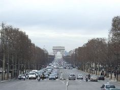 Arc de Triomphe - One of my favorite travel memories...climbing the steps for the view!