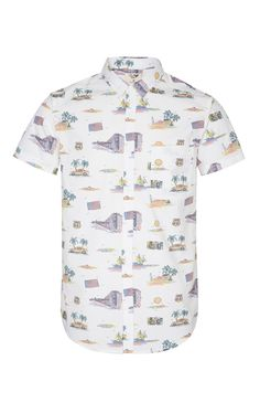 USA Road Trip Print Shirt