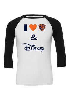 I Love The Bears and Disney Ragaln   Chicago Bears   Bears and Disney