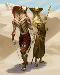 Skesh, Povo do deserto