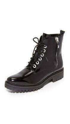 KENDALL + KYLIE Jordana Combat Boots