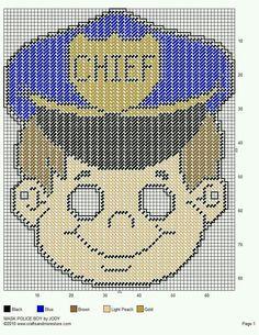 MASK * POLICE BOY by JODY