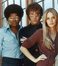 The Mod Squad  Clarence Williams, III, Michael Cole and Peggy Lipton  LOVED this show !!!!!!!!!