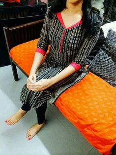 Lavender n yellow salwar With churidhar Salwar Neck Designs, Churidar Designs, Kurta Neck Design, Kurta Designs Women, Dress Neck Designs, Blouse Designs, Salwar Pattern, Kurta Patterns, Dress Patterns