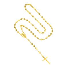NEW Virgin Mary Catholic Rosary Necklace