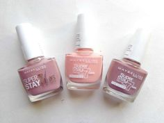 maybelline 7 days gel nail paint beige touch sukissed rose poudre