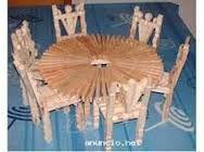 Resultado de imagem para tutorial para hacer una mecedora con pinzas de madera / make a rocking chair with wooden pegs