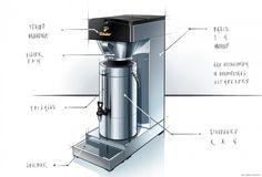 coffee machine design - Google Search
