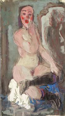Nude - Alexandre Jacovleff