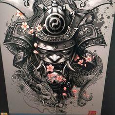 Výsledek obrázku pro samurai tattoo