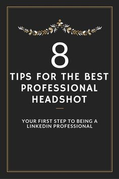 Professional headshots are a must on your LinkedIn profile. Here are some tips on how to create yours!