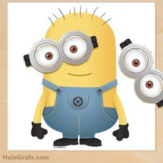 Free Minion Party Invitaion printables, Free pin the goggles on the ...