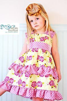 Sunday morning Vineyard dress....Momi boutique. $57.00, via Etsy.