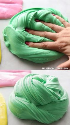 slime recipe without glue - slime recipe ; slime recipe with contact solution ; slime recipe with borax and glue ; slime recipe without glue ; slime recipe without contact solution Slime For Kids, Fun Crafts For Kids, Toddler Crafts, Diy For Kids, Easy Crafts, Edible Crafts, Young Toddler Activities, Kids Educational Crafts, Magic For Kids