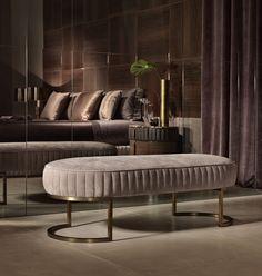 Daytona arredamento contemporaneo moderno di lusso, arredo e mobili in stile art déco per la casa inspirata al design anni 30