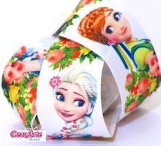 Fita de gorgurão Princesas Frozen  Fever