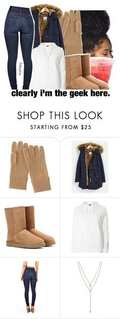 """""""Snow Storm 😭😭"""" by leah143love ❤ liked on Polyvore featuring Uniqlo, Parka London, UGG Australia, Dorothy Perkins, Vibrant and Vince Camuto"""