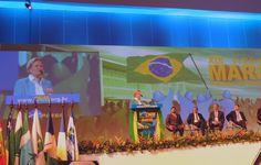 """""""Estamos vivendo a falência dos Municípios"""", disse a senadora Ana Amélia Lemos durante seu discurso na abertura da XIX Marcha a Brasília em Defesa dos Municípios, na manhã desta terça-feira (10), na capital federal. Promovido pela Confederação Nacional de Municípios (CNM), o evento segue até quinta-feira (12). Em sua fala, a senadora reforçou a necessidade ..."""