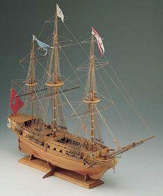 Ship Model Corel - Sirene - 18th Century French Frigate