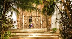 Casa Malca is located on an unspoiled beach in Tulum, on the edge of the Sian Ka'an Biosphere Reserve.