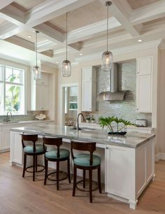 Lovely Coastal Casual   Beach Style   Kitchen   By Ficarra Design Associates, Inc. Pictures