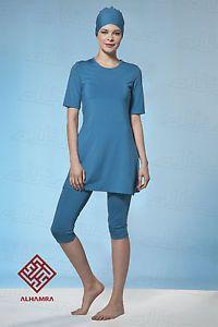 99f8d7d2d1e7b Details about AlHamra Capri Modest Burkini Swimwear Swimsuit Burqini Muslim  Islamic Sportwear