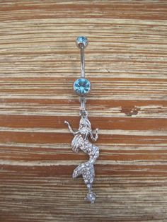 Belly+Button+Ring++Body+Jewelry++Mermaid+with+by+BriellesJewels,+$10.00