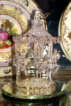 Hand Blown Glass Carousel Hand Blown Glass Pinterest Blown Glass Carousels And Glasses