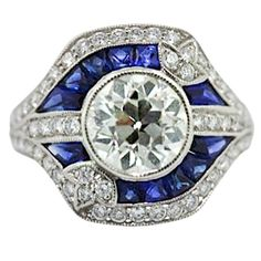 Sophia D Diamond & Sapphire Ring