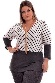 Blusa Plus Size Giuliana