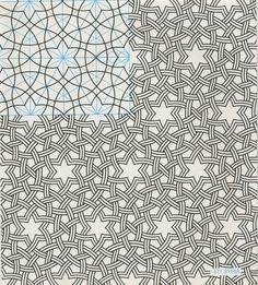 Pattern in Islamic art, Syria, 471, GP-B 064 Geometric Patterns & Borders