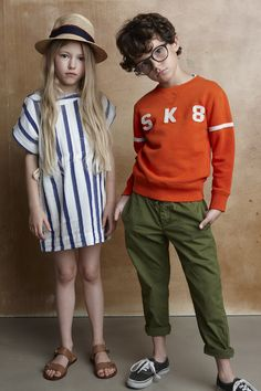 Bellerose Spring/Summer 17 Collection Available on Smallable : http://en.smallable.com/bellerose Boys. Girls. Toddlers. Childrenswear. Fashion. Summer. Outfits. Clothes. Smallable