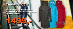 Didriksons  Thelma Coat. Bestselger fra Didriksons til damer. Kjøpes enklest i nettbutikk http://www.didriksonsshop.no/
