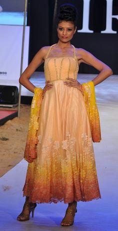 Neeta Lulla. Romantic IRFW 12'. Indian Couture.