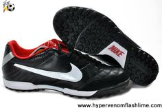 Fashion Black red Nike Tiempo Natural IV Football Boots Store