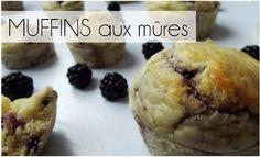 Muffins Mûres (-30% de calories)