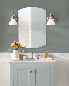 Treat Gray As A Neutral For Fresh And Modern Look In The Bathroom